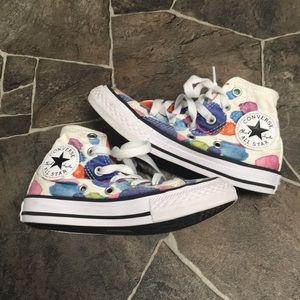 EUC, Like New! Cute Converse All⭐️Star high tops